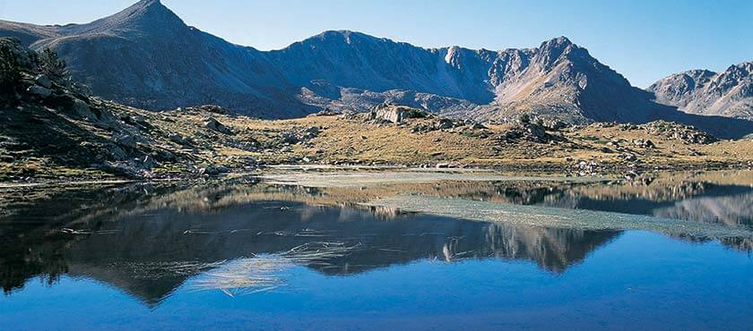 Principality of Andorra Mountains