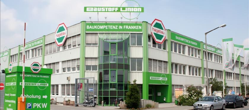 Baustoff Union's headquarters in Nuremberg, Germany.