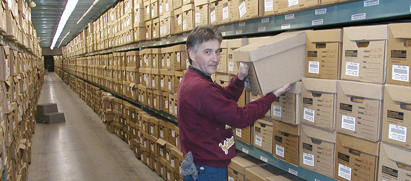 Diversified has over four million cubic feet of archival records spread over 18 locations in the USA.