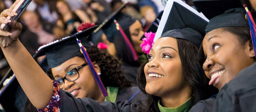 Francis Marion University graduates at commencement