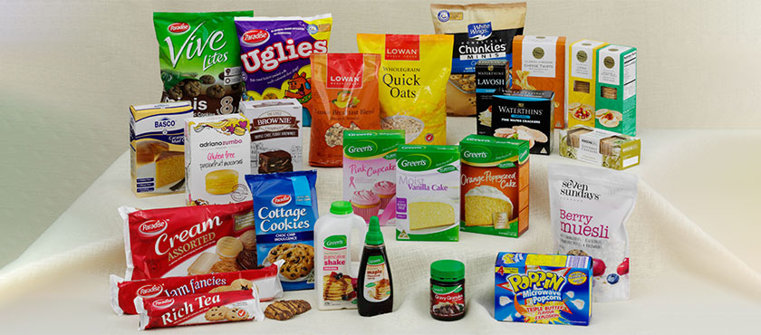 Green's produces and distributes food products, such as baking and pancake mixes, crackers, muesli, oats, popcorn, maple syrup, toppings and gravy.
