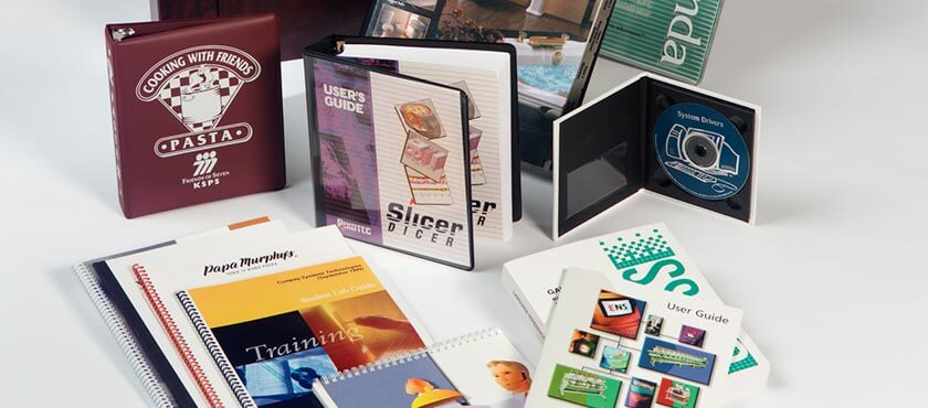 ViaTech is a complete resource for printed and collateral materials such as books, binders, index tabs, CD and DVD replication, media packaging, offset printing, laminating, folders, posters and more.