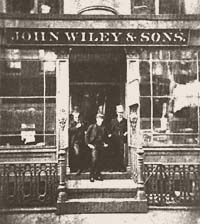 John Wiley & Sons Original Storefront