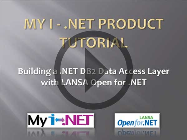 Building a .NET DB2 Data Access Layer with LANSA Open for .NET