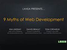 9 Myths of Web Development