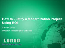 How to Justify a Modernization Project Using ROI