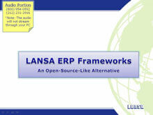 Take Control of Your Business with LANSA ERP Frameworks