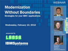 Modernization Without Boundaries: Strategies for your IBM i applications