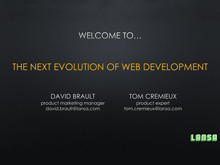 The Next Generation of Web Development