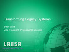 Transforming Legacy Systems