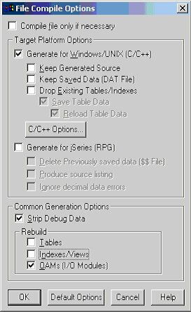Compile the file with these options