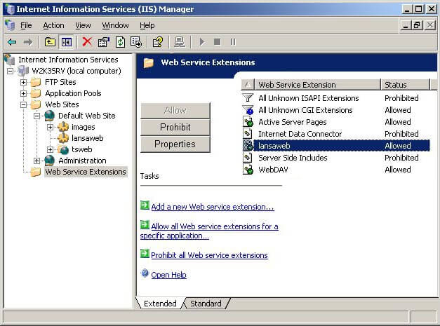 Transformer son Windows XP en serveur